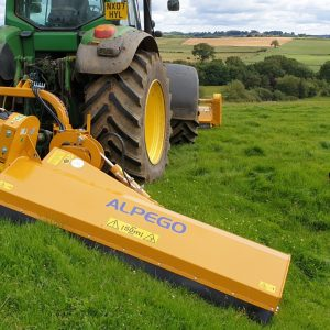 New Alpego TL33-220 Hydraulic offset Flail Mower with Vertical fold